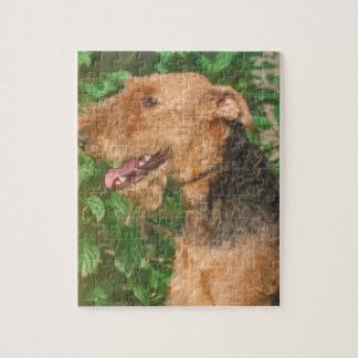 Airedale Terrier Dog Puzzle