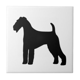 Airedale Terrier Dog Tile