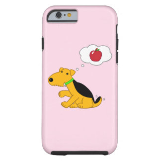 Airedale Terrier Dog w Apple iPhone/6/6s case