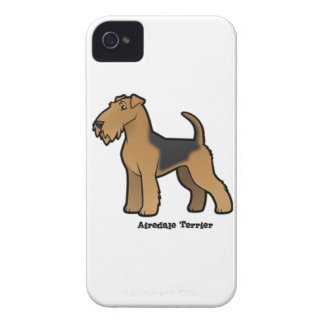 airedale terrier iPhone 4 Case-Mate case