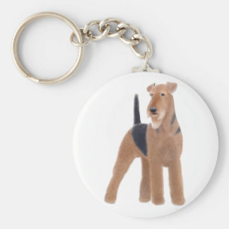 Airedale Terrier Keychain