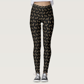 Airedale Terrier Leggings - cute dog design