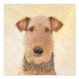 Airedale Terrier Magnetic Card