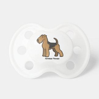 airedale terrier pacifiers