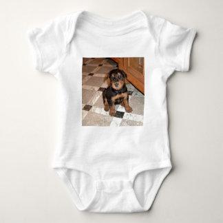 Airedale Terrier Puppy Baby Bodysuit
