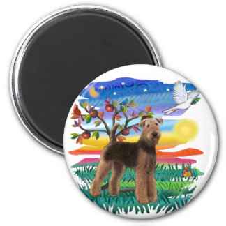 Airedale Terrier - Sun Glow Magnet