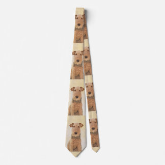Airedale Terrier Tie