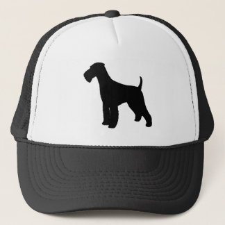 Airedale Terrier Trucker Hat