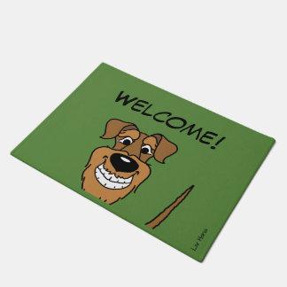 Airedale Terrier Welcome Doormat