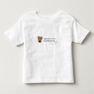 airedale toddler t-shirt