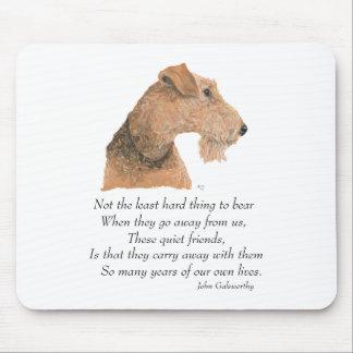 Airedale, Welsh, Lakeland Terrier Keepsake Mouse Pad