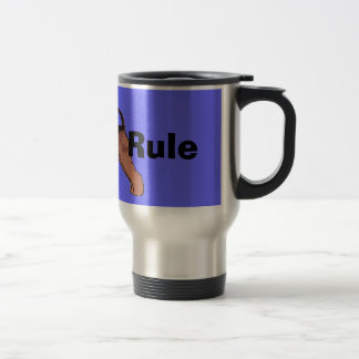 Airedales Rule Travel Mug