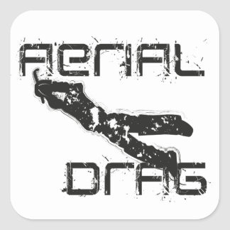 airefil drag hockey keeper square sticker