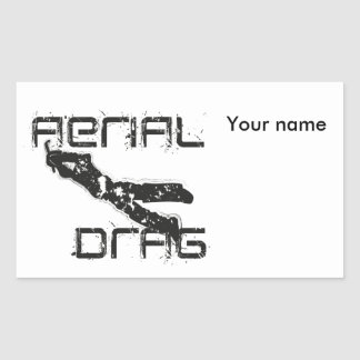 airefil drag hockey keeper sticker