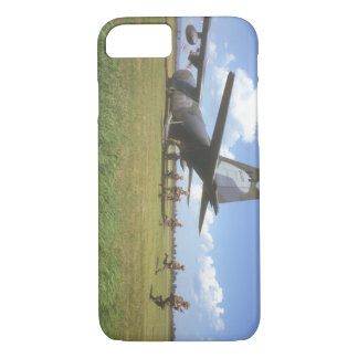 Airfield assault exercise with_Military Aircraft iPhone 7 Case