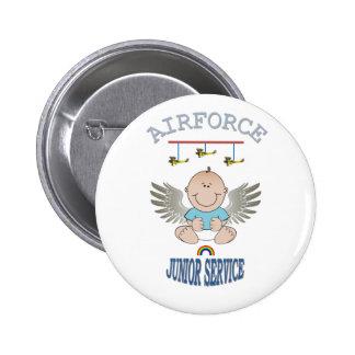 AIRFORCE JUNIOR SERVICE BUTTON