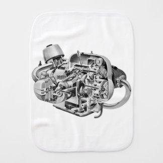 Airhead Cutaway Burp Cloth