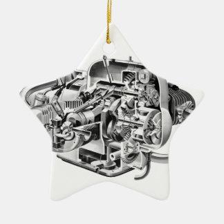 Airhead Cutaway Ceramic Ornament