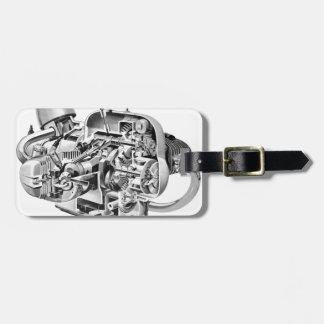 Airhead Cutaway Luggage Tag