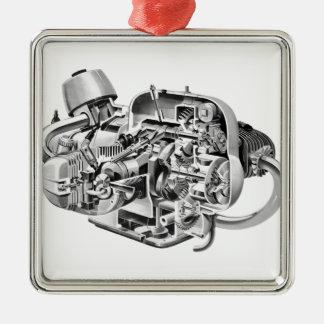 Airhead Cutaway Metal Ornament