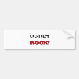 Airline Pilots Rock Bumper Sticker