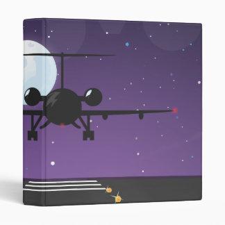 airline takeoff vinyl binder