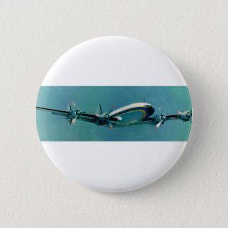 Airline Travel 2 Inch Round Button