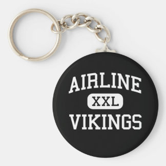 Airline - Vikings - High - Bossier City Louisiana Keychain