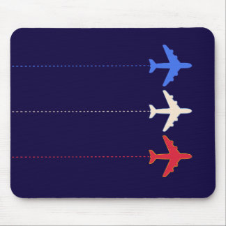 airlines airplanes mouse pad
