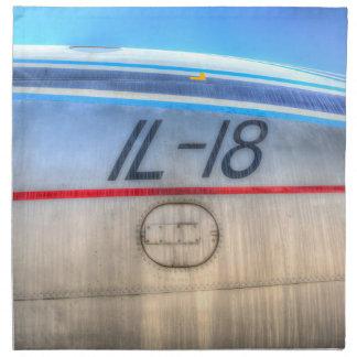 Airlines Ilyushin IL-18 Napkin