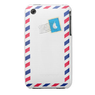 airmail Custom iPhone 3G/3GS Case