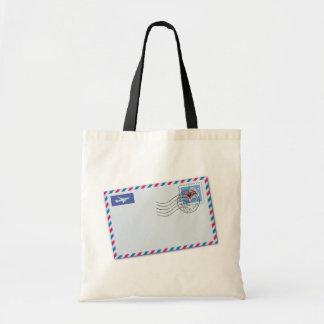 Airmail Envelope Tote Bag