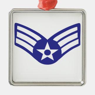 Airman Senior Class USA Airforce Metal Ornament
