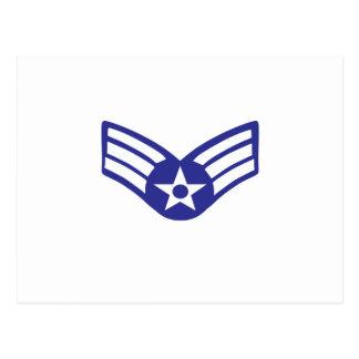 Airman Senior Class USA Airforce Postcard