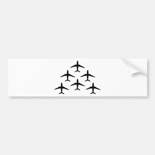 airplane armada bumper sticker