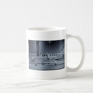 "Airplane ""black white"" photo picture HDR T-Shirt Coffee Mug"