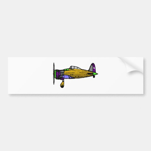 airplane bumper stickers