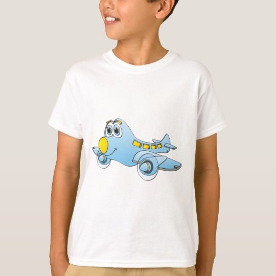 Airplane Cartoon T-Shirt