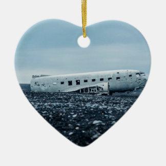 airplane ceramic ornament