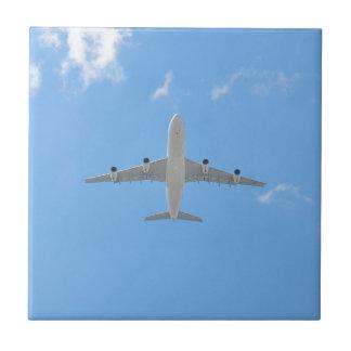 Airplane Ceramic Tile