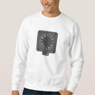 Airplane Compass Sweatshirt