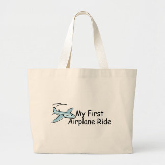 Airplane First Airplane Ride Canvas Bag