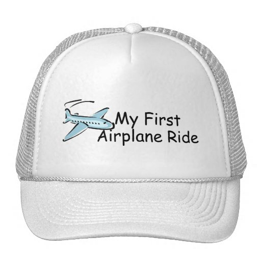 Airplane First Airplane Ride Hat