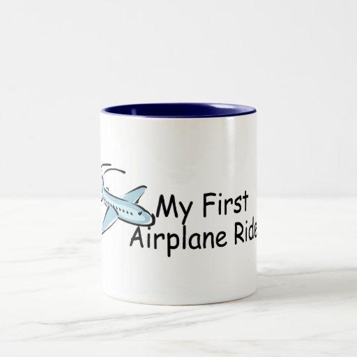Airplane First Airplane Ride Coffee Mug