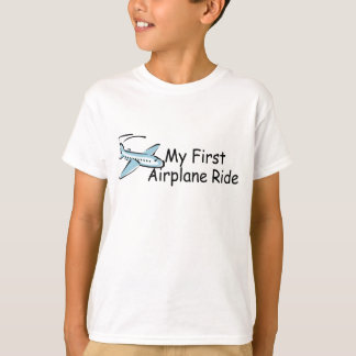 Airplane First Airplane Ride Tee Shirt