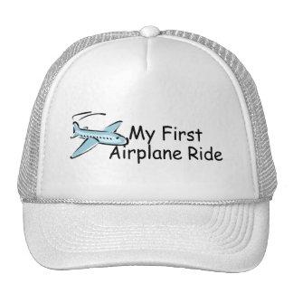 Airplane First Airplane Ride Trucker Hat
