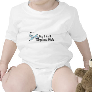 Airplane First Airplane Ride Rompers