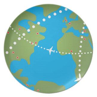 Airplane Flight Paths Plates