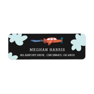 Airplane Fun Address Labels