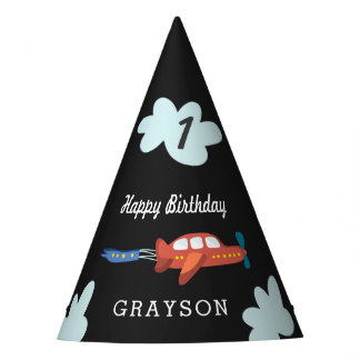 Airplane Fun Personalized Party Hat